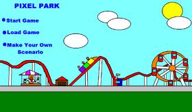 Pixel Park Menu