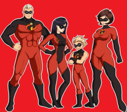 The Incredibles 2 Designs