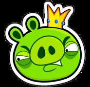 Pig-king-Angry
