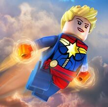 LEGO Captain Marvel (Carol Danvers)