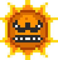 Angry sun, the