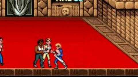 Double Dragon Arcade - Last Mission