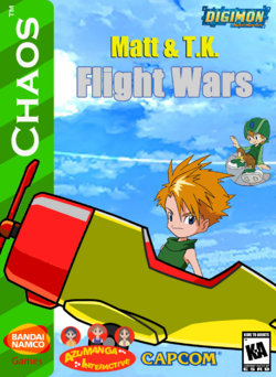 Matt And TK Flight Wars Box Art 1