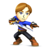 SSB4U3D Mii Swordfighter