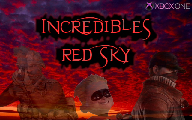 Incredibles Red Sky