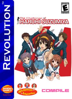 The Challenge of Haruhi Suzumiya Box Art 2