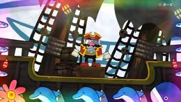 Game and wario pirates