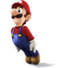 Super Smash Bros. Strife recolour - Luigi 1