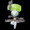 Super Smash Bros. Strife recolour - Meloetta-Pirouette 7
