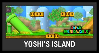 Super Smash Bros. Strife stage box - Yoshi's Island