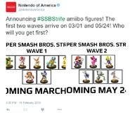 SSBStrife amiibo announcement