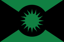 Satou Empire flag