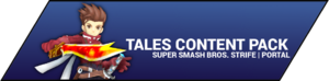 Super Smash Bros. Strife portal image - Tales DLC