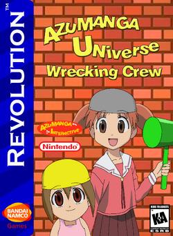 Azumanga Universe Wrecking Crew Box Art 1