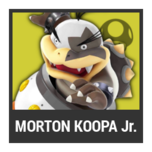 Super Smash Bros. Strife character box - Morton Koopa Jr.