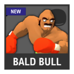 Super Smash Bros. Strife Assist box - Bald Bull