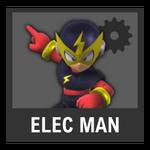 Super Smash Bros. Strife Assist box - Elec Man