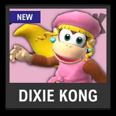 Super Smash Bros. Strife character box - Dixie Kong