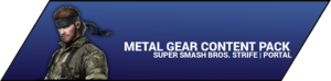 Super Smash Bros. Strife portal image - Metal Gear DLC
