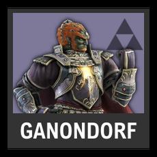 Super Smash Bros. Strife character box - Ganondorf