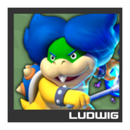 ACL Mario Kart 9 character box - Ludwig von Koopa