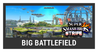 Super Smash Bros. Strife stage box - Big Battlefield