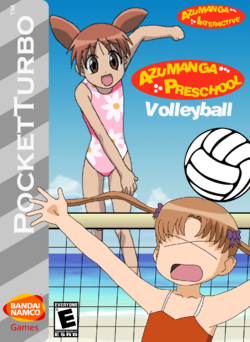Azumanga Preschool Volleyball Box Art 4