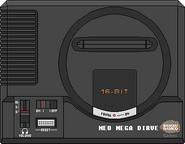 Bandai Neo Mega Dirve Console
