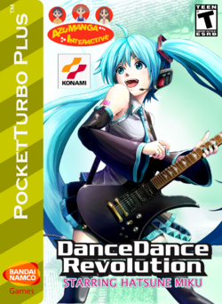 DDR Starring Hatsune Miku Box Art