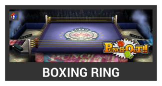 Super Smash Bros. Strife stage box - Boxing Ring