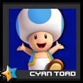 ACL Mario Kart 9 character box - Cyan Toad