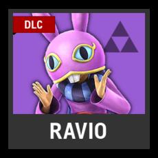 Super Smash Bros. Strife character box - Ravio