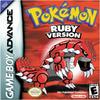 Pokemon Ruby box art