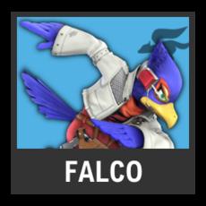 Super Smash Bros. Strife character box - Falco