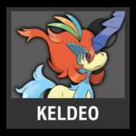 Super Smash Bros. Strife Pokémon box - Keldeo