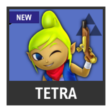 Super Smash Bros. Strife character box - Tetra