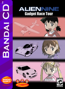 Alien Nine Gadget Race Tour Box Art 2