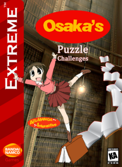 Osaka's Puzzle Challenges Box Art 1