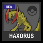 Super Smash Bros. Strife Pokémon box - Haxorus