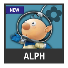 Super Smash Bros. Strife character box - Alph