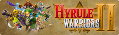 Hyrule Warriors II - eShop banner