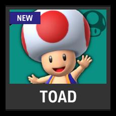 Super Smash Bros. Strife character box - Toad
