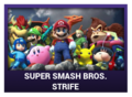 J-Games game box - Super Smash Bros Strife