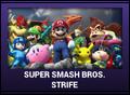 J-Games game box - Super Smash Bros Strife