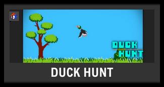 Super Smash Bros. Strife stage box - Duck Hunt