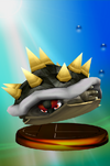 Bowser Trophy (Smash 2) melee