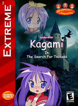 Kagami In The Search For Tsukasa Box Art 1