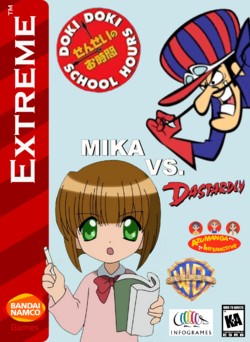 Doki Doki School Hours Mika Vs Dastardly Box Art