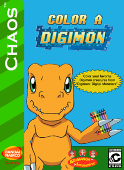 Color A Digimon Box Art