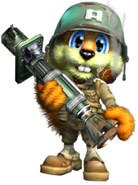 Conker the squirrel 06